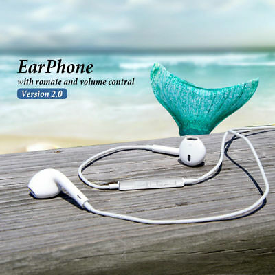 AU6.95 • Buy Earbuds Headphones Earphones Mic Remote For Apple IPhone Samsung Galaxy HTC IPod