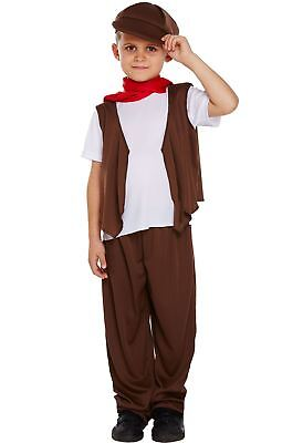 £11.99 • Buy Childrens Victorian Chimney Sweep Costume Boys Fancy Dress Party Wear Outfit