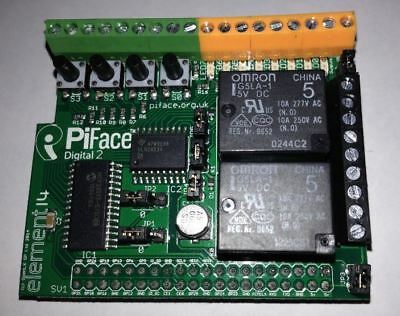 AU39.95 • Buy PiFace Digital 2 (I/O Expansion Board For Model B+, Raspberry Pi 2 & Pi 3)