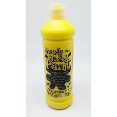£7.61 • Buy West Ready Mix Paint 600ml Brill Yellow