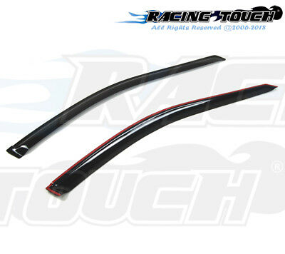 $30.29 • Buy For Honda Accord Coupe 98-02 Dark Grey Out-Channel Window Visor Sun Guard 2pcs