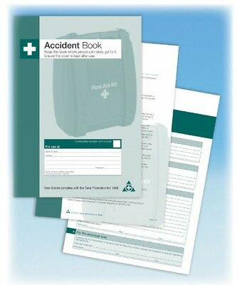 First Aid Accident Book Workplace School Accident Record Compliant A4 • 4.99£