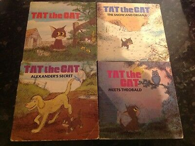 £30 • Buy Set Of 4 Tat The Cat Books By Audrey Titcombe