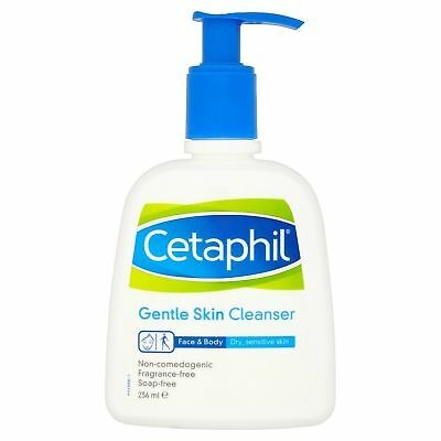Cetaphil Gentle Skin Face & Body Cleanser For Dry Sensitive Skin 236ml • 10.18£
