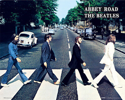 £4.90 • Buy The Beatles Abbey Road Music Rock Pop Mini Poster Print 40x50cm | 16x20 Inches
