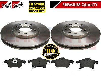 For Vauxhall Zafira Mk1 A 2 Front Brake Discs And Pads Pad Set 1998-2004 • 43.95£
