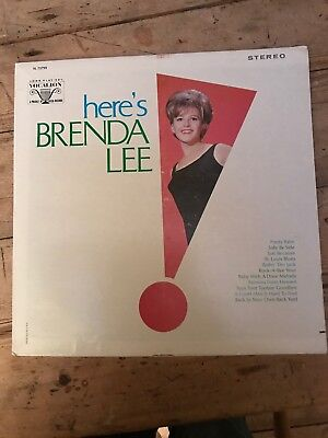 Here's Brenda Lee Original LP Vocalion USA • 9.99£