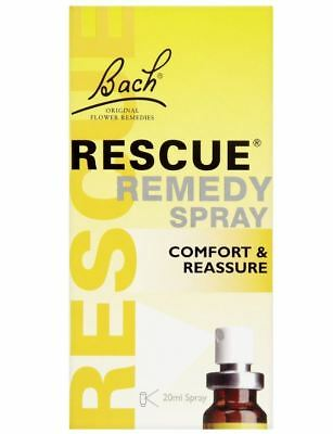 Rescue Remedy Natural Fast Acting Stress Relief Spray, 20 Ml • 12.95£