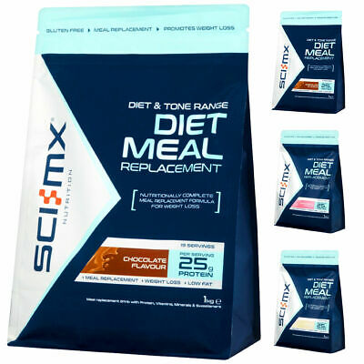 £15.99 • Buy Sci-Mx Diet Meal Replacement 1KG Shake Weight Loss Shakes Slim Whey Protein Fast