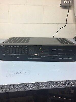 $115 • Buy Akai Am-a202 Stereo Integrated Amplfier 1986-87 40 Watts Per Channel