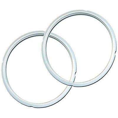 $16.09 • Buy Genuine Instant Pot Sealing Ring 2 Pack Clear 8 Quart Pressure Cooker Parts
