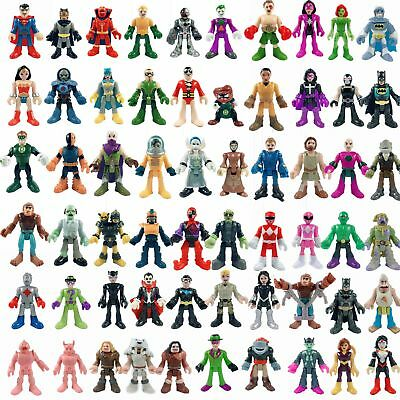 UP 60 Kinds Of IMAGINEXT DC Super Friends Power Rangers Figures For You Select • 4.90£