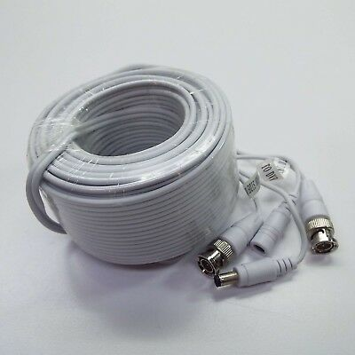 $ CDN10.99 • Buy CABLE 48' Feet BNC EXTENSION Cables FOR HD Camera WHITE (LOOK DESCRIPTION) A500