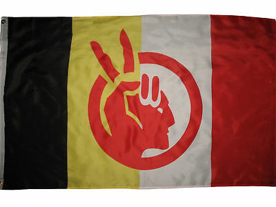 $6.24 • Buy American Indian Movement Flag Native American Rights Protest 3x5 Ft Banner AIM