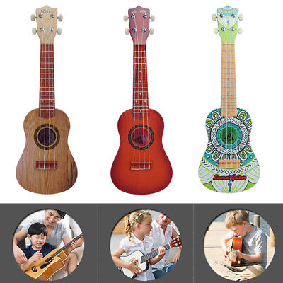 Children Acoustic 4 Strings Guitar Rhythm Ukulele Instrument Musical Toy W/Strap • 25.87£