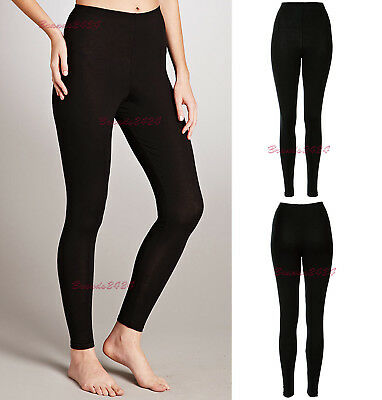 £4.70 • Buy NEW WOMEN LADIES THICK WINTER THERMAL LEGGINGS FLEECE LINING SIZE 8 To 16
