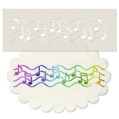 £3.95 • Buy Music Notes Border Stencil - Sheet,  Music, Note