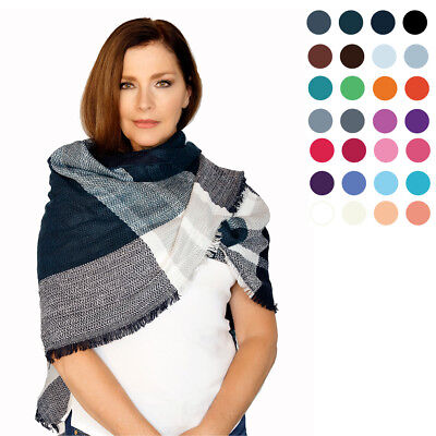 $9.35 • Buy Casaba Womens Scarves Scarf Stoles Wraps Shawls Plaid Style Great Gifts