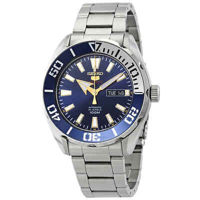 $ CDN185.61 • Buy Seiko Series 5 Automatic Blue Dial Stainless Steel Men's Watch SRPC51