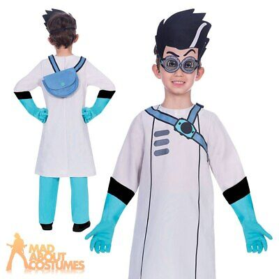 Boys Official PJ Masks Romeo Villain TV Fancy Dress Costume Superhero Outfit  • 16.99£