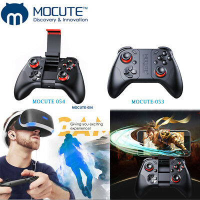 Mocute 053/054 Bluetooth Gamepad Android Wireless Controller Remote-VR-Spie J6D8 •