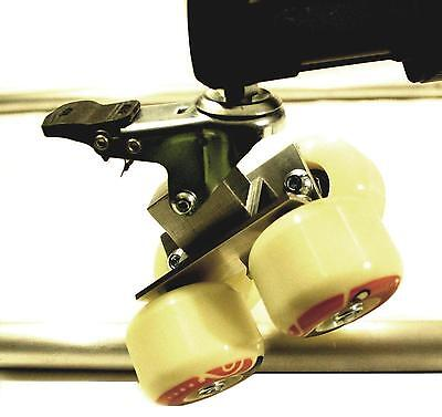 Camera Track/ TRACKING Dolly 12 WHEEL SETUP Convert Your Floor Dolly In TRACKING • 139£