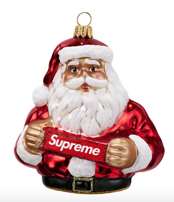 $98.88 • Buy Supreme Ornament Red FW18 Christmas Accessory Brand New