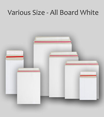 £79.59 • Buy White All Board Envelopes All Sizes Cardboard Strong Mailers C3 C4 C5 DL