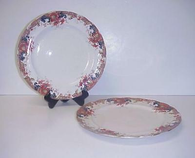 S.B. & S. Sampson Bridgwood & Son Dinner Plates Set 2 • 29.88£