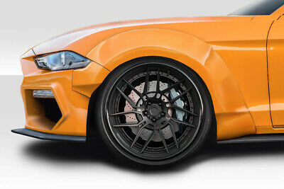 $ CDN1212.04 • Buy 18-19 Ford Mustang Grid Couture Urethane Wide Front Fender Flares!!! 114998