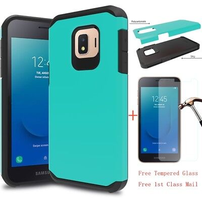 For Samsung Galaxy J2 Core Shockproof Hybrid Armor Bumper Rubber TPU Case Cover • 7.35$