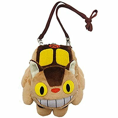 £45.30 • Buy Ghibli Collection My Neighbor Totoro Cat Bus Plushie Kiss Lock Purse Pouch Bag
