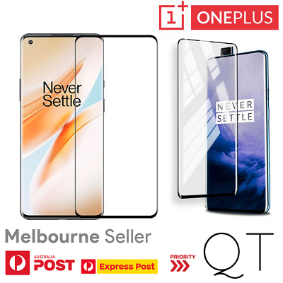 AU5.99 • Buy Genuine Tempered Glass/Film Screen Protector For OnePlus 7 7T Pro 5 5T 6 6T