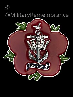 £9 • Buy Womens Royal Navy Service WRNS Remembrance Flower Lapel Pin (P27)