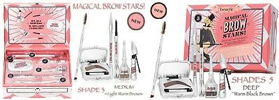 £57.90 • Buy Benefit Magical Brow Stars 5 Full Size  Blockbuster Shades 3 Or 5 Gift Set Kit