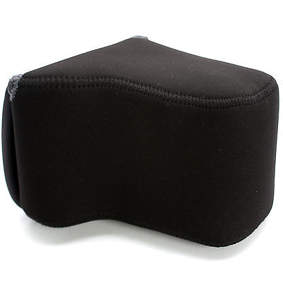 Olympus E-5 D-SLR Body 24-70mm Lens NEOPRENE PROTECTOR Camera Case Bag • 23.99£