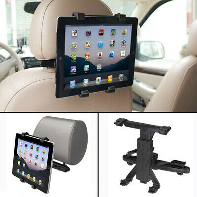 Universal Headrest Seat Car Holder Mount For 7 -10  Inch Screen IPad / Tablet • 4.99£
