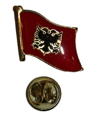$ CDN7.67 • Buy Albania Lapel Hat Pin FAST USA SHIPPING