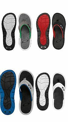 0039c184c36f Oakley Supercoil Sandals Grey Charcoal Black Red Brown Blue 6-14 13 12 11 9
