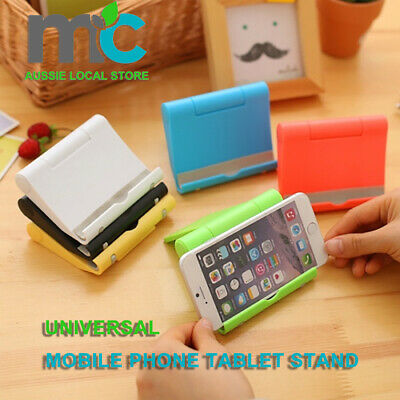AU4.99 • Buy Universal Cell Phone Foldable Table Desk Stand Holder Mobile Phone Tablet Stand