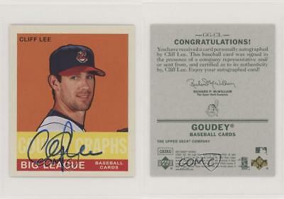 $7 • Buy 2007 Upper Deck Goudey Graphs #GG-CL Cliff Lee Cleveland Indians Auto Card