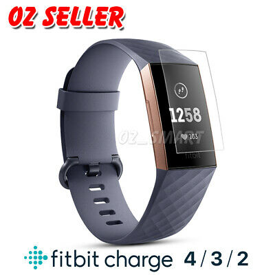 AU4.95 • Buy 3x Fitbit Charge 4/ Charge 3/ Charge 2 Compact TPU Hardness LCD Screen Protector