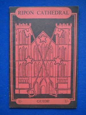 Ripon Cathedral - Guide Book   C1953 • 3.95£