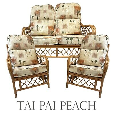 £170 • Buy Replacement Cushions/covers For Cane/wicker Conservatory Furniture (piped)