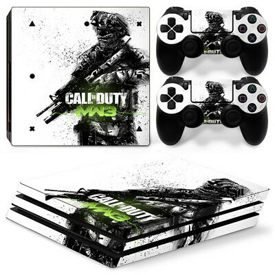 AU16.92 • Buy Call Of Duty For Sony Playstation PS4 PRO Console Stickers & 2 Controllers Skin