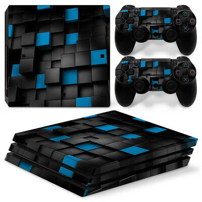 AU16.92 • Buy 3D Mosaic For Sony Playstation PS4 PRO Console Stickers & 2 Controllers Skin