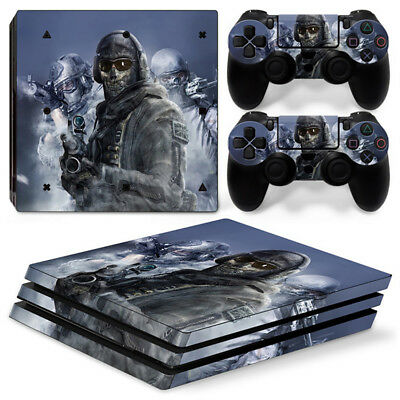 AU16.08 • Buy Call Of Duty For Sony Playstation PS4 PRO Console Stickers & 2 Controllers Skin