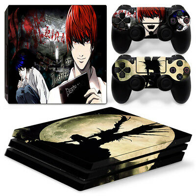 AU16.92 • Buy Death Note For Sony Playstation PS4 PRO Console Stickers & 2 Controllers Skin