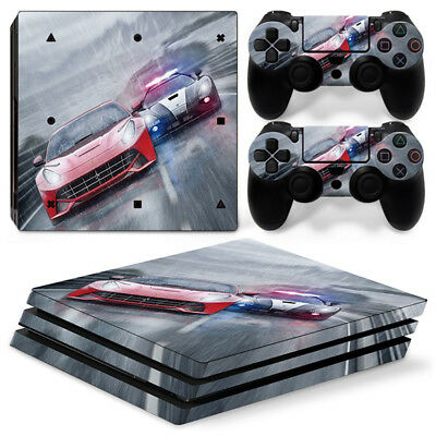 AU16.92 • Buy Need For Speed For Playstation PS4 PRO Console Stickers & 2 Controllers Skin
