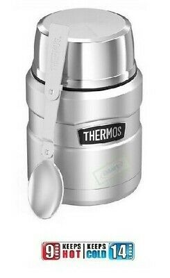 AU36.66 • Buy Thermos Vacuum Insulated Food Jar 16oz / 473ml Stainless Steel NEW